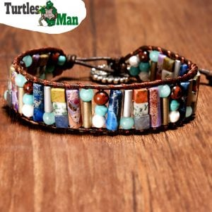 TurtlesMan Stone Bracelet
